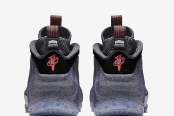 "Nike Air Foamposite One ""Denim"" To Release This Week: Official Images"