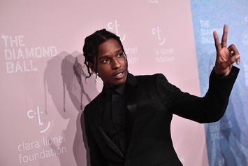 "A$AP Rocky & Skepta Use Live Band To Full Potential On ""Praise The Lord"""