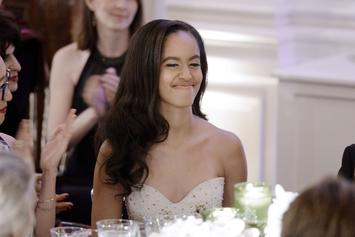"Malia Obama Makes Music Video Debut In New Dakota's ""Walking On Air"""