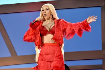 """Cardi B Was """"Nervous & Sweaty"""" During Global Citizen Performance"""