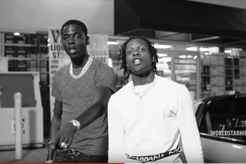 "Lil Durk Drops Off Black & White Visual For ""Downfall"" With Lil Baby & Young Dolph"