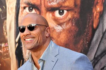 Dwayne Johnson Is Adorably Held Hostage By His Daughter As She Paints His Nails