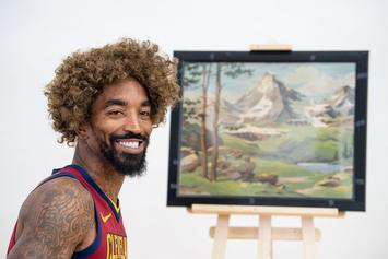 """J.R. Smith Won't Discuss Supreme Tattoo With NBA: """"I Don't Talk To The Police"""""""