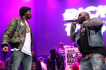 "Rick Ross Dubs Meek Mill The ""Voice Of The Streets"""