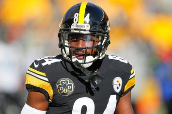 Antonio Brown Sued, Accused Of Nearly Hitting Toddler With Furniture