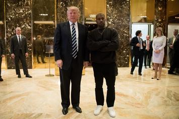 "Donald Trump On Kanye West: ""He's Really A Great Guy"""