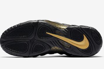 "sale retailer 729b5 1bec6 Nike Air Foamposite Pro ""Black Metallic Gold"" Gets November Release Date"