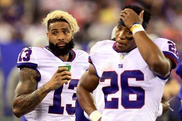 Eagles vs Giants: Odell Beckham Explains Why He Left Field Early