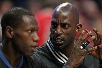 "Kevin Garnett Weighs In On Timberwolves: ""It's a Shit Storm Up There"""