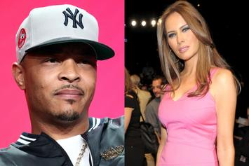 "T.I. Features Naked Melania Trump Lookalike In ""Dime Trap"" Clip"