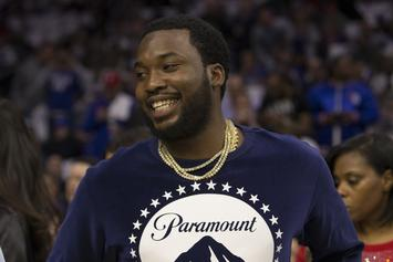 """Meek Mill Previews New Song: """"Got 350 On Me Now But I Aint Wearing Yeezy's"""""""