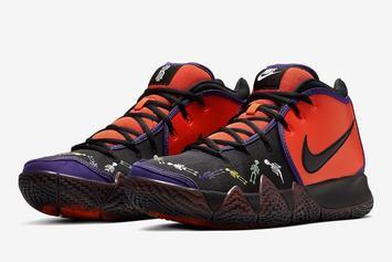 """Nike Kyrie 4 """"Day Of The Dead"""" Coming Soon: Official Images"""