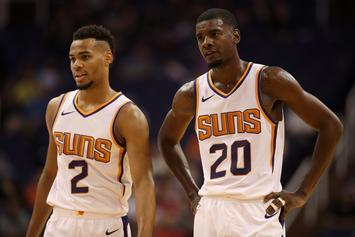 "Suns' Josh Jackson Was Involved In ""Malice At The Palace"" As An 8-Year Old"