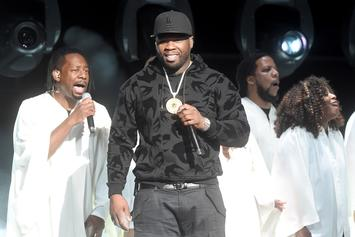 "50 Cent Post Up As ""Judge"" After Ashanti Called Him A Bully: No Mercy For ""Suckers"""