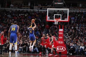 Klay Thompson Breaks NBA Three-Point Record: Report