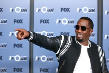 Diddy Skydives Into The Playboy Mansion's Backyard To Celebrate His 49th Birthday