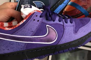 "Concepts x Nike SB Dunk Low ""Purple Lobster"" Coming Soon: First Look"