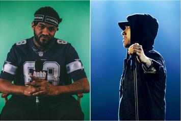 "Joyner Lucas Vows Eminem Is In Peak ""Stan"" Form On New Collaboration"