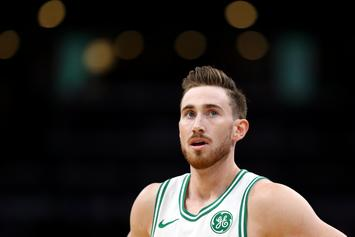 Celtics' Gordon Hayward Doused In Boos In His Return To Utah