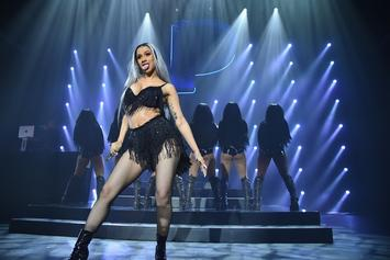 Cardi B Puts On A Twerking Display During Free New York Concert