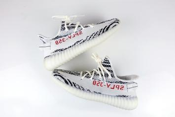 "Adidas Yeezy Boost 350 V2 ""Zebra"" Releasing Today: Purchase Links"