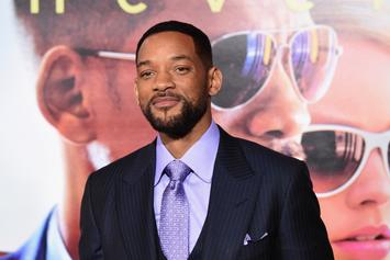 "Will Smith Explains Why He Was ""Terrified"" To Play Genie In ""Aladdin"""