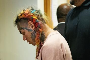 6ix9ine & Ex-Manager Arrested On RICO Charges: Report