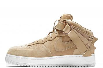 Victor Cruz x Nike Air Force 1 Mid Restock: Purchase Links