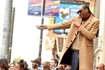 "Snoop Dogg Thanks Himself During Walk Of Fame Speech As A ""Bad Motherf*cker"""