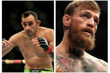 """Tony Ferguson Thinks He Can """"Break"""" Conor McGregor: """"In A Cage Or Boxing Match"""""""