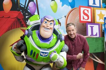 "Tim Allen Details ""Toy Story 4,"" Ridicules ""Woody's"" Lack Of Groin"