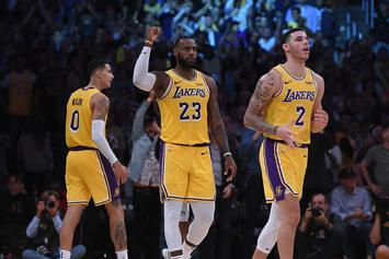 """LeBron James On Lonzo Ball: He's Still Learning """"How Great He Is"""""""