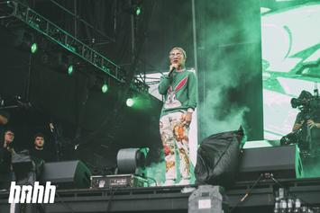 Lil Pump Pees On His Money Then Has To Pick It Up: Watch
