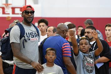 LeBron James Hopes To Keep Playing Until His Son Is In The NBA