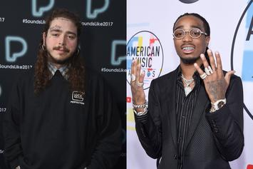"Quavo Aims For A Diamond Plaque With Post Malone's ""Congratulations"""