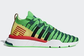 """Dragon Ball Z x Adidas EQT Support """"Shenron"""" Official Images"""