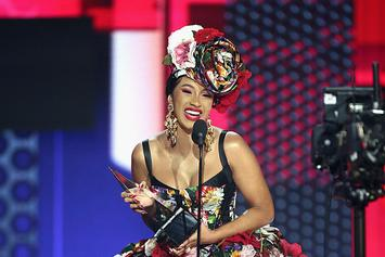 """Cardi B Reveals 2019 Goals As She's Named One Of EW's """"Entertainers Of The Year"""""""