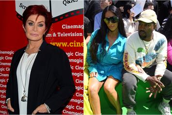 "Sharon Osbourne Calls Kanye & Kim ""Obnoxious"" For Flying Private Boeing 747"