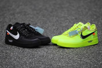 Off-White x Nike Air Force 1 Low Releasing In Two Colorways