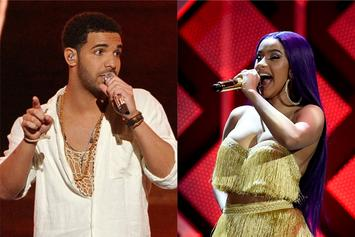 "Drake & Cardi B Awarded With Huge Honors On Apple Music's ""Best Of 2018"""