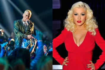 "Eminem Gets Dragged & Bodied By Christina Aguilera Fans For ""Kick Off"" Diss"