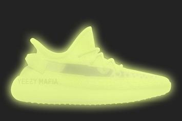 "Adidas Yeezy Boost 350 V2 ""Glow In The Dark"" Coming In 2019"