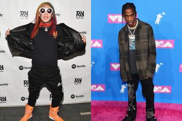 "6ix9ine's ""DUMMY BOY"" Outsells Travis Scott's ""Astroworld"" By 200 Units: Report"
