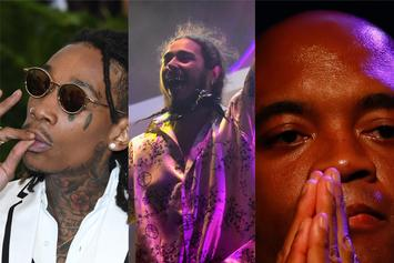 "Post Malone Calls For Wiz Khalifa Vs. Anderson Silva ""MMA Megafight"""