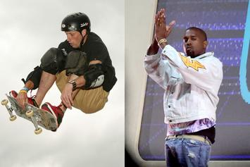 Tony Hawk Praises Kanye West's First Attempt At Skateboarding