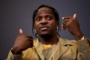 "Pusha T Talks Grammy Nod, Drake Beef, & Kanye West On ""The Daily Show"""