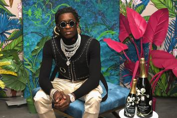 Young Thug Sneakily Flips The Bird In Courtroom IG Post