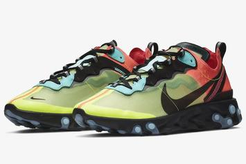 Nike React Element 87 Getting Two Colorful Colorways Next Year