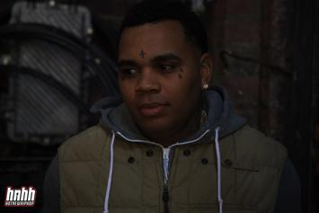 """Kevin Gates Shows Off His New """"Customized"""" Blond Hair"""