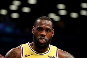 "LeBron James Pardoned By NBA For Sharing ""Jewish Money"" Lyrics"